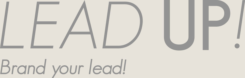 Lead Up! Brand your lead!